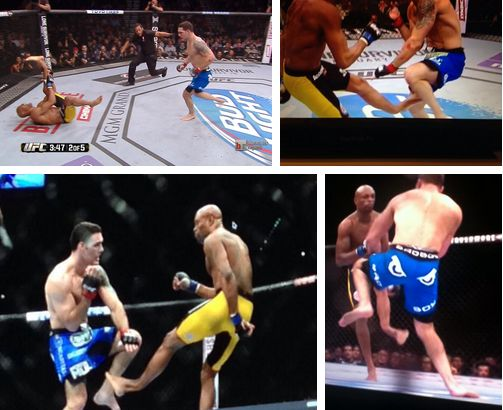 Anderson Silva vs Chris Weidman tudo que aconteceu na revanche