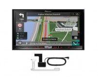 Pioneer AVIC-F80DAB - 2 Din CD DVD Player DAB digital Radio Apple CarPlay Bluetooth + Aerial
