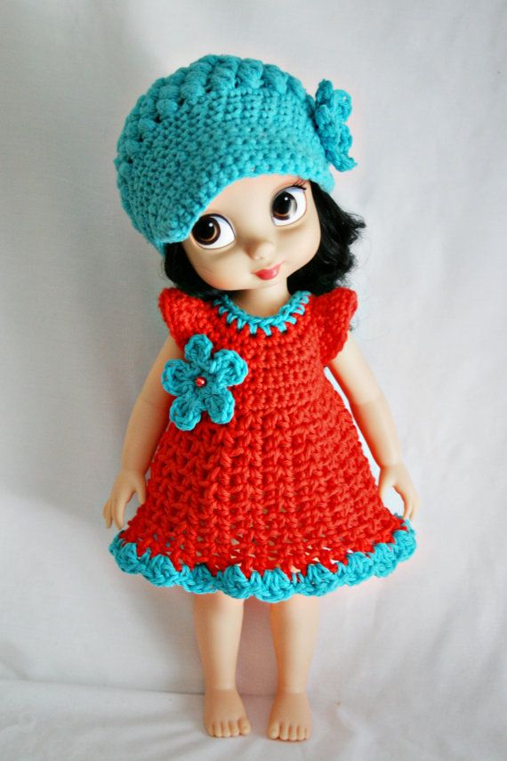 Disney Animator Doll Crochet Outfit Newsboy by ElibeeCreations