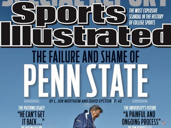Penn State Sports Illustrated Cover - Business Insider