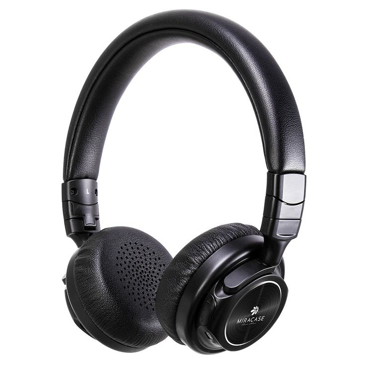 Miracase Lightweight Wireless Over-Ear Headphones with Mic, Noise-Cancelling Stereo Bluetooth Earphones with Soft Earmuffs, Foldable Hi-Fi BT Headset for Phones and PC, Long Lasting Battery (Black). Designed with the latest noise cancelling technology, these headphones provide immersive, high quality Hi-Fi sound. With strong, heavy bass, this design allows for the best possible listening experience. In wireless mode, a built-in 400mAh battery provides up to 15 hours of music and calls…