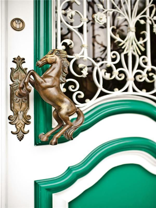 Door Handle... Okay this looks super expensive, but could I make a fake one with an old Breyer.... Hmmm ;)