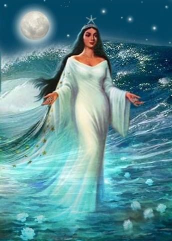 Meet the Mother of Oceans, #Orisha #YEMAYA. A new blog post by @TheMotherHouse #GoddessAlive