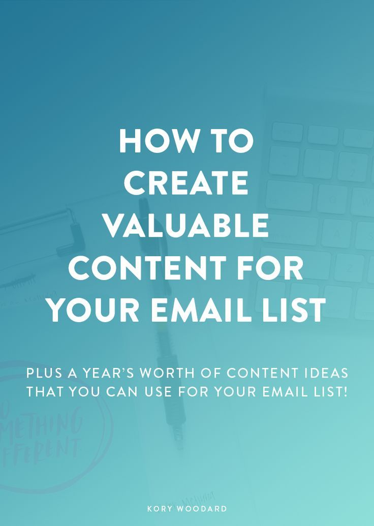 Since I've been working with people to create stellar email lists for their brands, one of the main things I've noticed people struggle with is their content. Click through for a few great tips for you today on how to come up with that exclusive, valuable