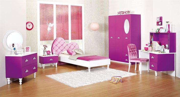 2015 Kız Çocuk Genç Odası Modelleri