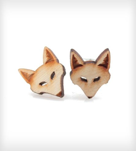 Fox Stud Earrings | Women's Jewelry | Vinca | Scoutmob Shoppe | Product Detail