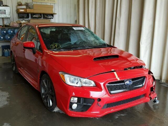 Salvage 2017 Subaru Wrx Premium Sedan For Sale | Salvage Title