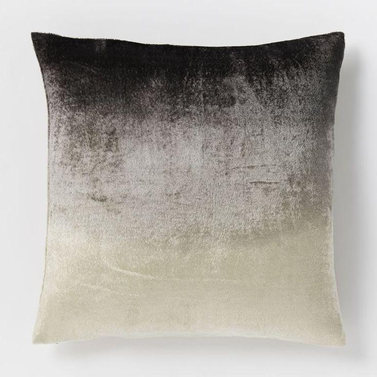 Ombre Velvet Cushion Cover - Slate