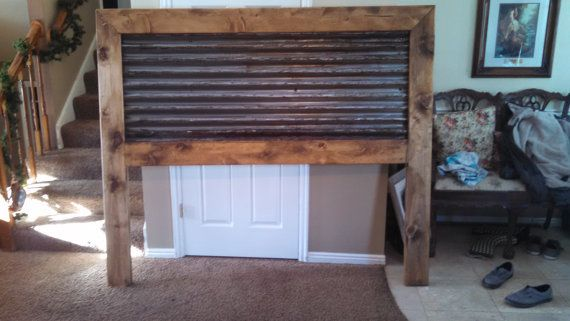 Metal Roofing Rustic Headboard