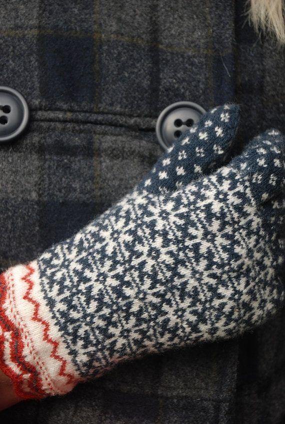 Estonian traditional gloves от UNDIIN на Etsy