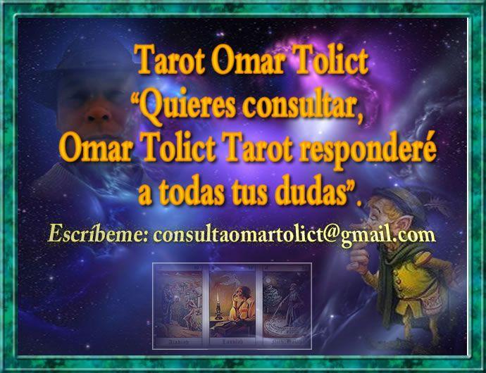 Quieres consultar, Omar Tolict Tarot responderé a todas tus dudas. Llámame, si tienes dudas de cómo agendas una cita de Lectura de Tarot Escríbeme tus consultas a: consultaomartolict@gmail.com Envía un mensaje por: Line al Fono: +56993166625 Responderé a la brevedad.