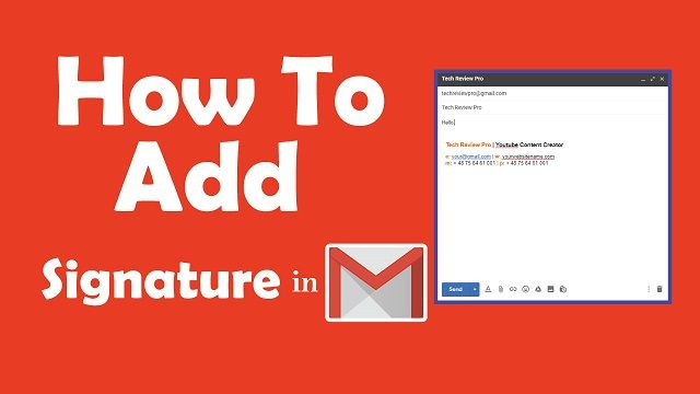How To Add Signature In Gmail Signature Generator Email Signature Generator Free Email Signature