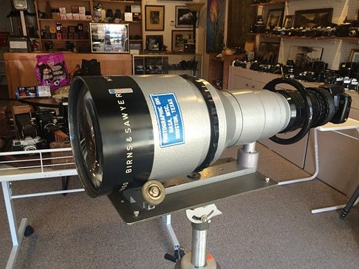 Rare 1964 NASA 1000mm F4.5 super telephoto lens to be auctioned: Digital Photography Review
