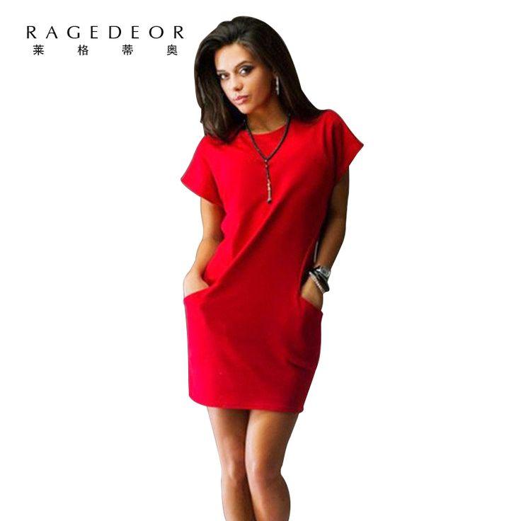 New Spring 2017 Women Dress Fashion Short Sleeve Black Red Evening party sexy Dresses Casual Bodycon vestidos Plus size ukraine