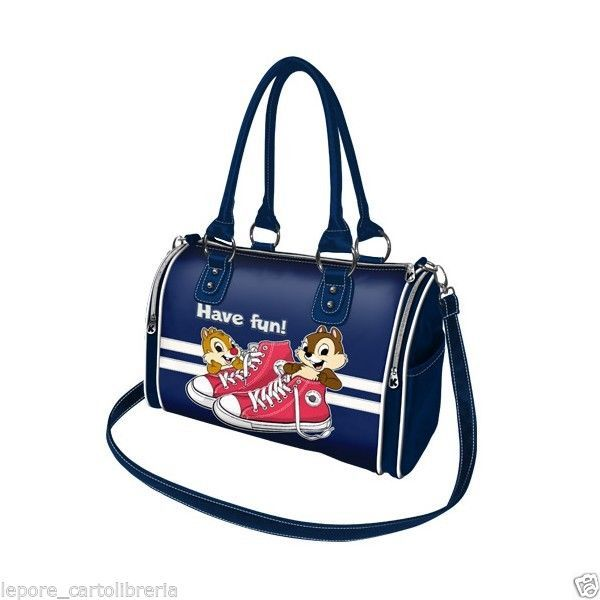 Borsa bauletto CIP E CIOP HAVE FUN ecopelle morbida - DISNEY