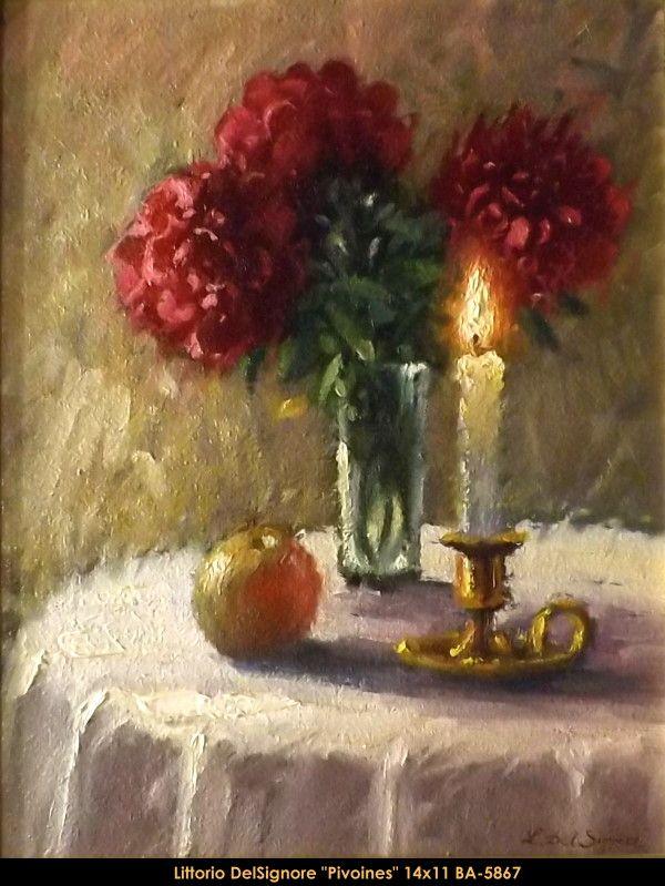 Original oil painting on canevas by Littorio Del Signore #Littoriodelsignore #artist #canadianartist #quebecartist #art #fineart #figurativeart #originalpainting #oilpainting #stilllife #flowers #balcondart #multiart