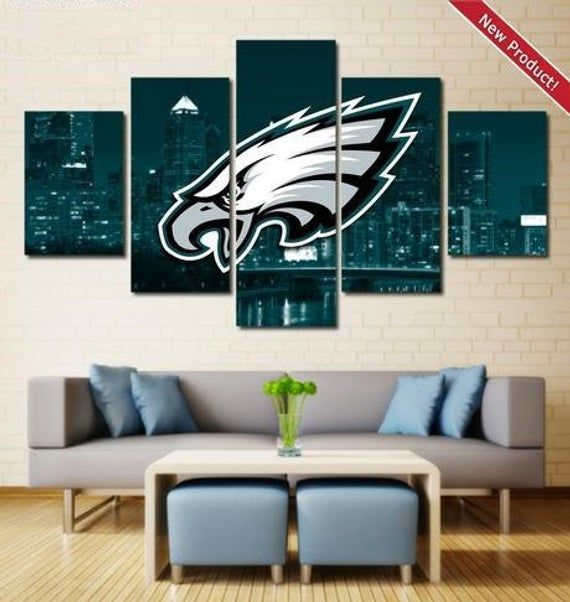 Philadelphia Eagles Wall Art Poster Print Decor Canvas Painting