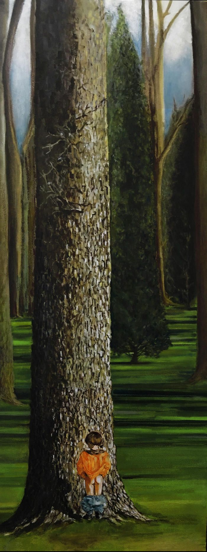 Original Oil Painting by Donna Chrstie see www.thesocietyofgoodeggs.com