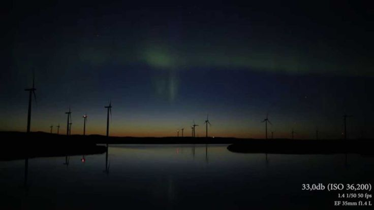 Exclusive AURORA skycam video: See the impossible with the new Canon ME2...