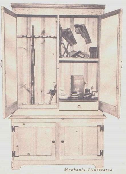 gun cabinet plans pallet projects in 2019 gun cabinet plans rh pinterest com