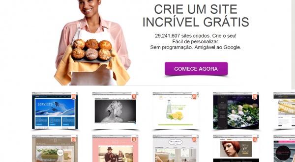 Wix Criador de Sites HTML5 e Flash com Hospedagem Grátis