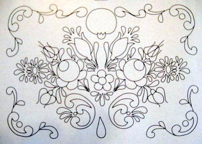 ARTEMELZA - Arte e Artesanato: Riscos para pintura bauernmalerei   Sketches for bauernmalerei painting