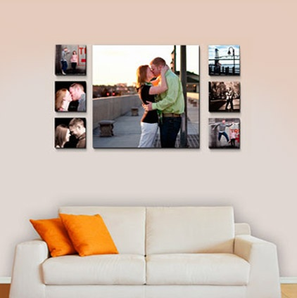 Canvas Display Ideas Home Is Where The 3 Pinterest Wall And