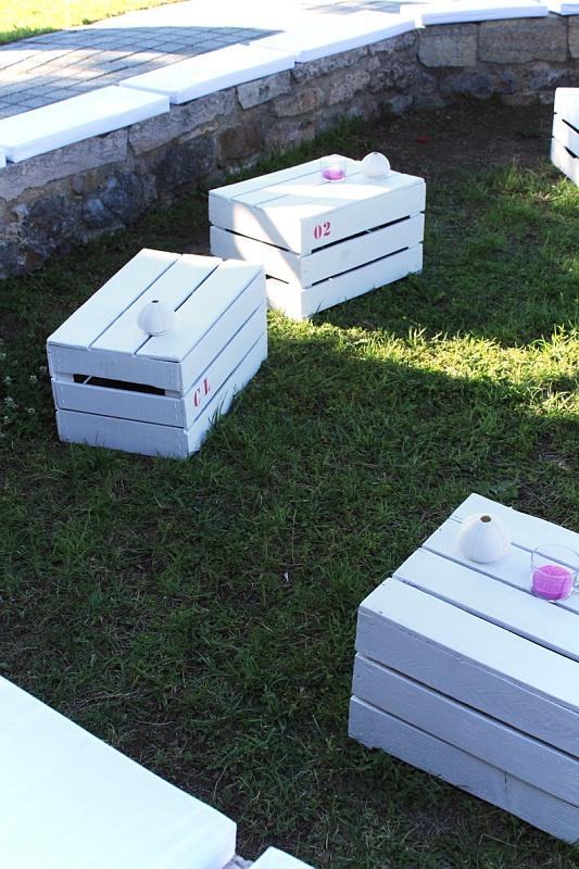Caisses de pommes deco exterieur for Exterieur creative box