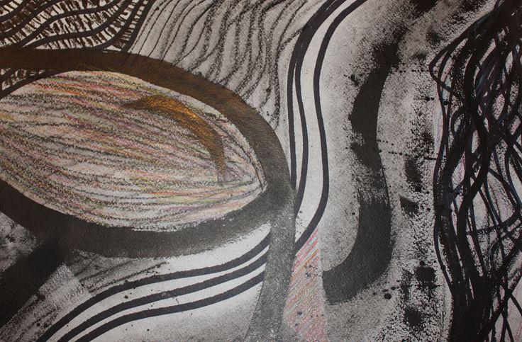 Dibujo abstracto. Expresion grafica IA