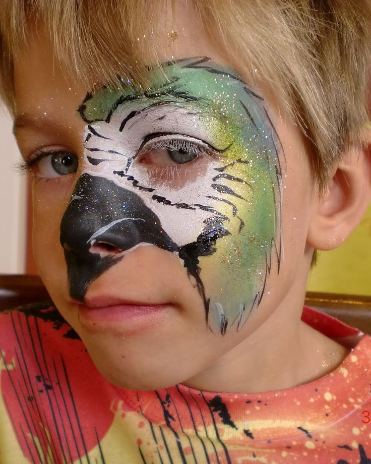 Stacey Kurtz Art For Mural In Boys: Face Painting Illusions And Balloon Art