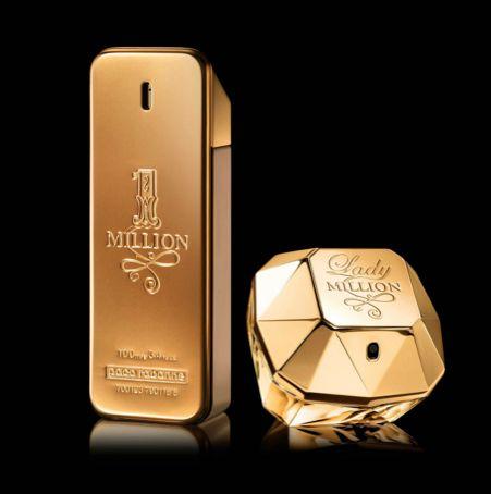 Packaging très original et distingué. - Techniques: L'emballage protège bien le parfum à l'intérieur (solide). Il est facilement transportable mais peu écologique. Il est facile à ranger de par sa forme. - Communication: L'emballage est agréable au regard et glamour. Le packaging ressemble à un lingot d'or ce qui renvoie à un signe de richesse pour l'acheteur. Le nom, la marque et les informations nécessaires sont bien mises en valeur ce qui est utile pour le consommateur.