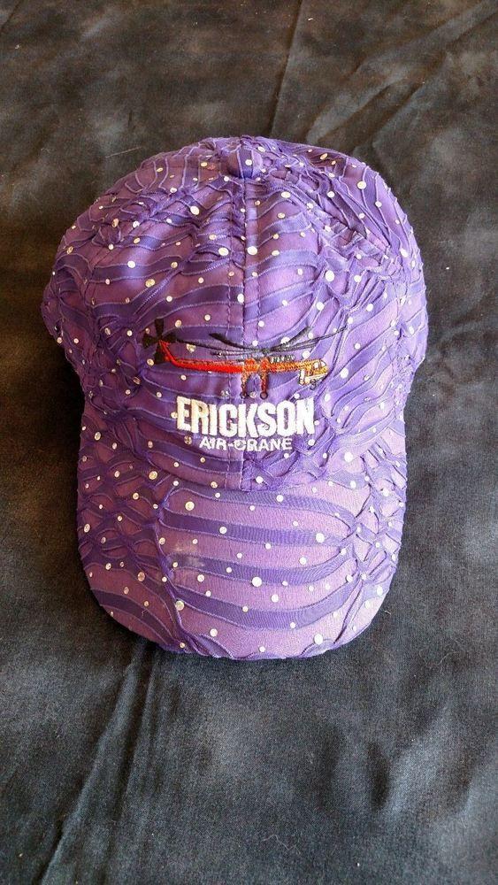 Gemmabella Bling Erickson Air Crane Bling Women's Adjustable Cap Purple #Gemmabella #BaseballCap