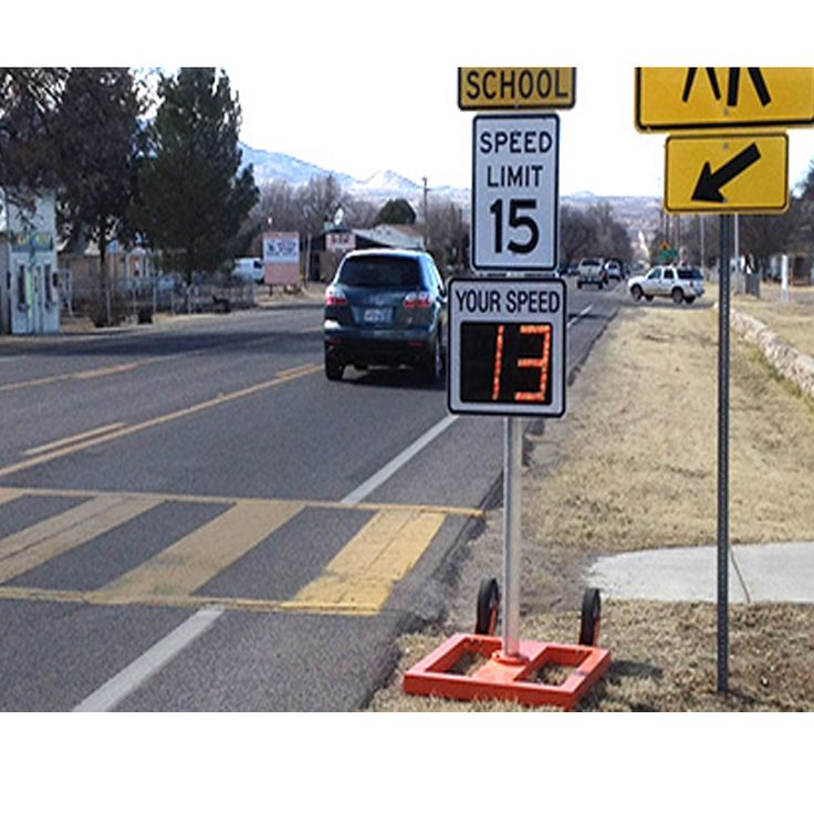 traffic signs india flashing warning light radar speed signs