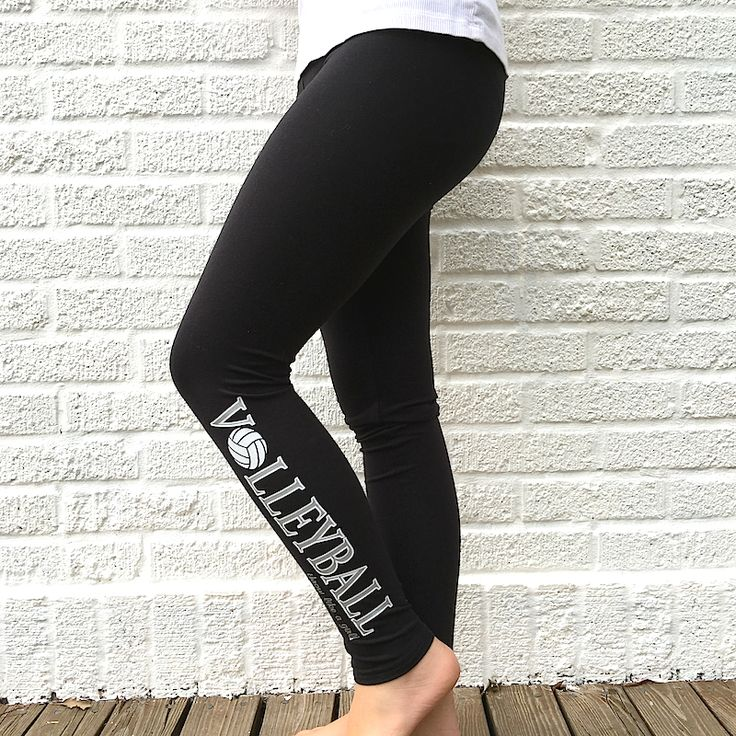 Volleyball Game Day Leggings