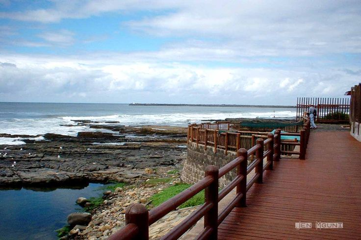 East London, South Africa - boardwalk beauty at Nahoon Beach