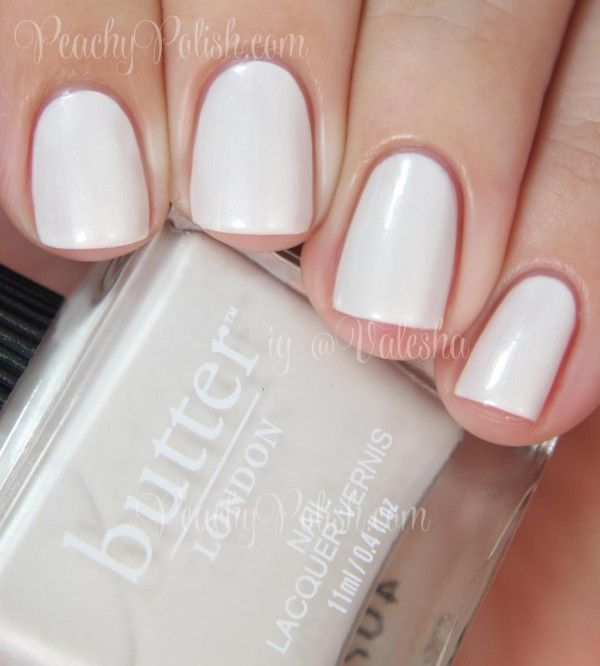 Butter London in  and Alabaster Gaze (mini), Sweet Nothings Collection Spring 2014