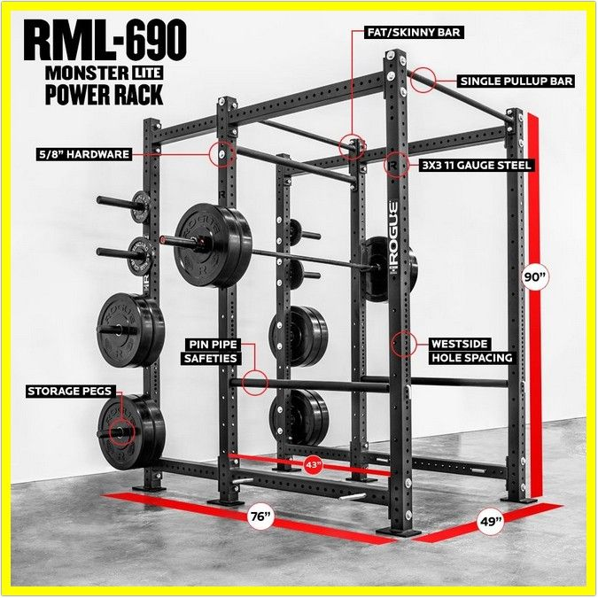 46 Reference Of Power Rack Weight Plate Holder Attachment In 2020 Power Rack Gym Rack Rogue Fitness