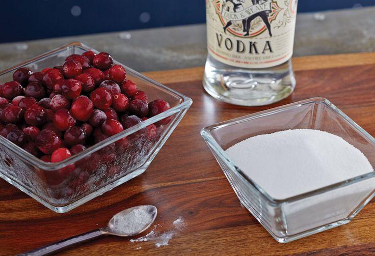 Cranberry Shimmer Vodka