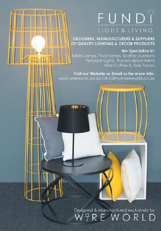 #ClippedOnIssuu from SA Decor and Design - The Buyers Guide 2016 Edition