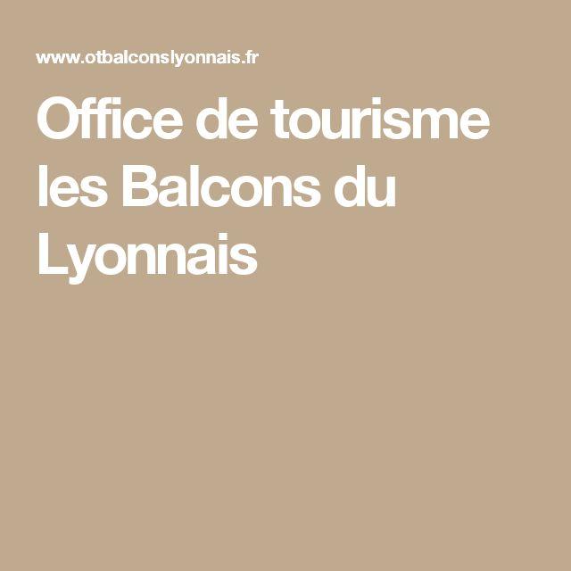 Office de tourisme les Balcons du Lyonnais