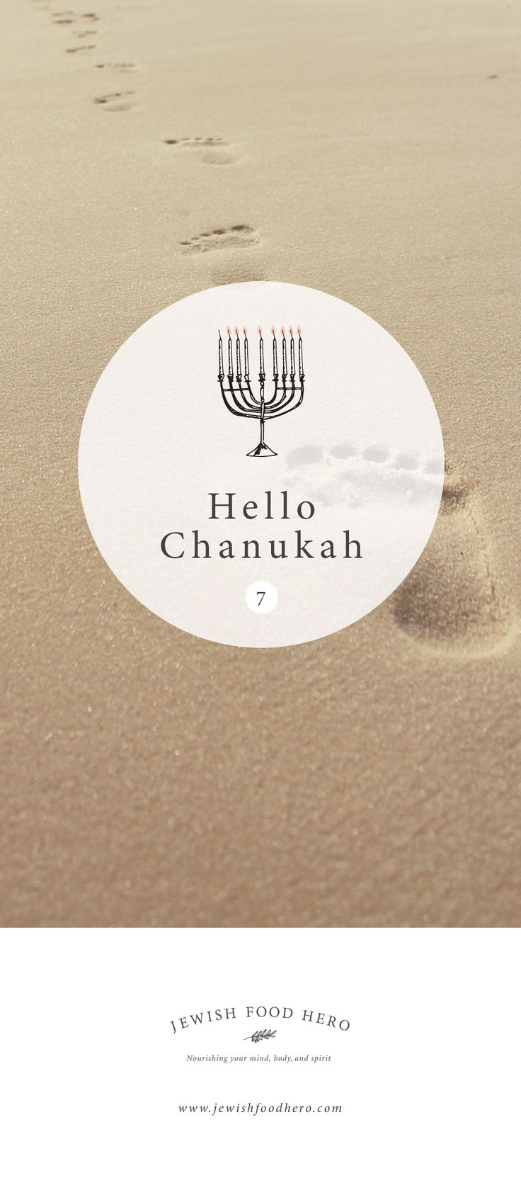 Hello Chanukah in Summer for the Jewish community in Southern Hemisphere by Jewish Food Hero