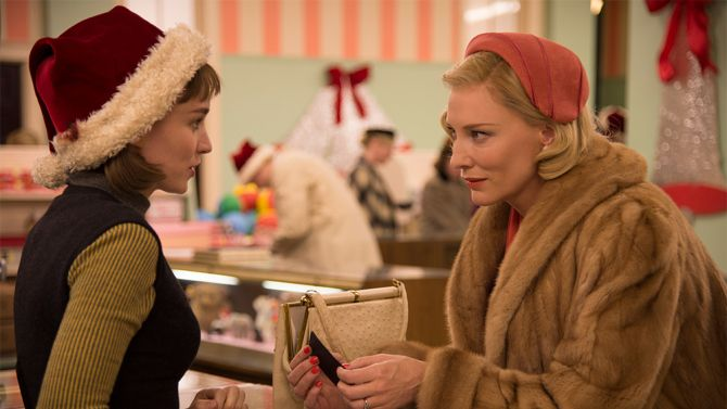 """""""Even high expectations don't quite prepare you for the startling impact of Carol, an exquisitely drawn, deeply felt love story"""" - Variety"""