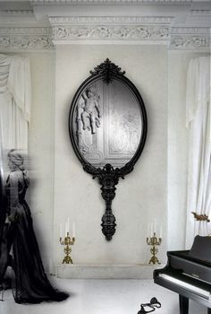 a wall mirror can dramatically transform any room moreover a statement mirror is a mirror inspirationmirror ideasunique - Unique Mirror Ideas