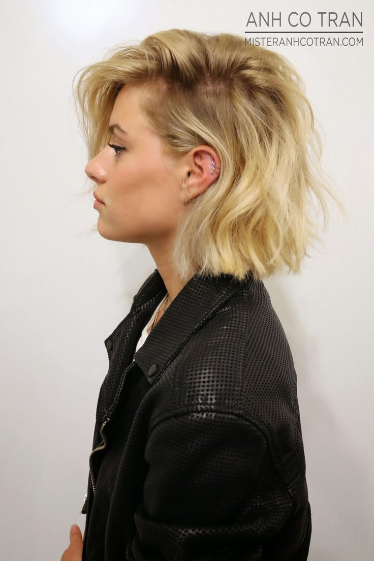 Messy Bob Hairstyles perfect long bob haircut with bangs Find This Pin And More On Bob Hairstyles101 Ways To Wear Them By Kaoshair