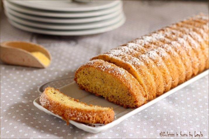 Amor polenta. Un dolce tipico di Varese, simile al plumcake. Dal gusto di mandorle, nocciole e burro e dalla consistenza morbida e sofficissima.