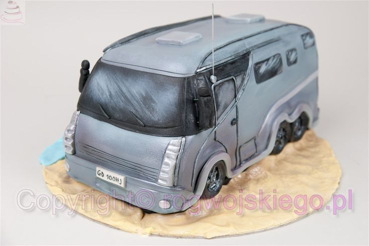 tort camper, tort samochód kampingowy, tort hobby, tort dla faceta, pomysł na prezent http://rogwojskiego.pl