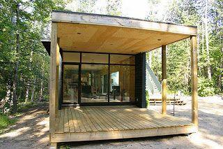 Casas ecologicas prefabricadas que conectan con la naturaleza
