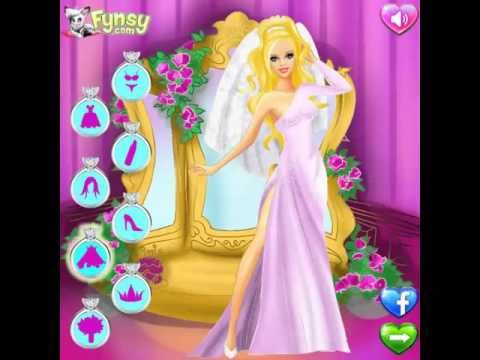 Juegos Friv | Wedding Salon Barbie | Friv Planet - YouTube