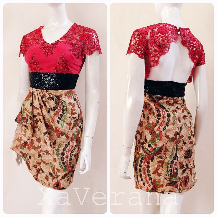 Batik dress Instagram: @xaverana