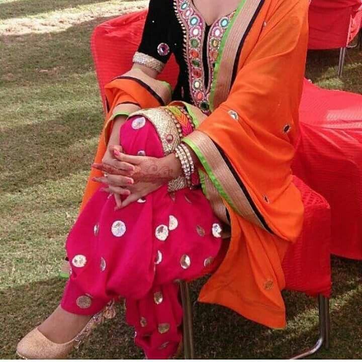 Punjabi boutique suit